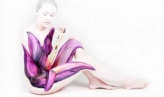 Body painting de Gesine Marwedel.