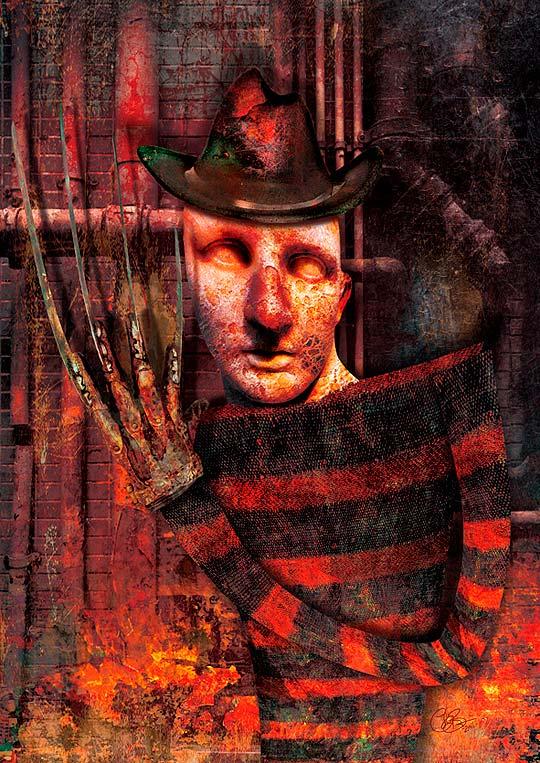Ilustración compilada. Halloween ilustrado.