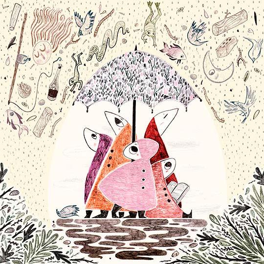 Ilustración de MARIANNA MADRIZ.
