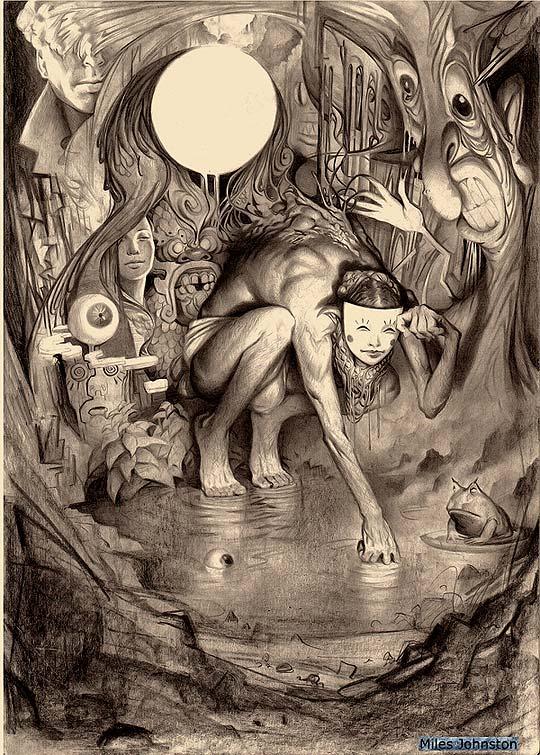 Ilustración de MILES JOHNSON.