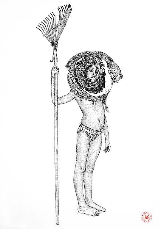 Dibujo de PABLO JURADO RUIZ.