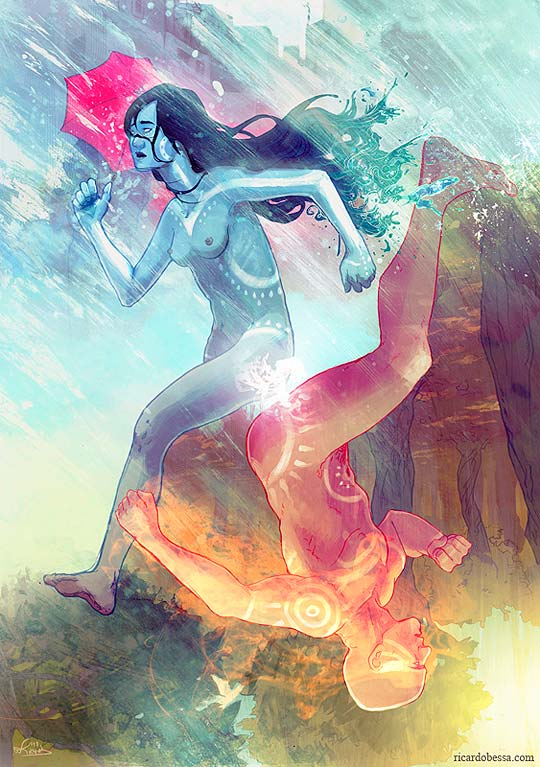 Ilustración de RICARDO BESSA