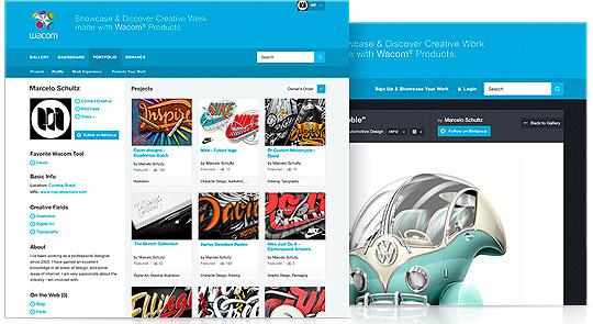 Wacom Américas lanza galería creativa en línea.