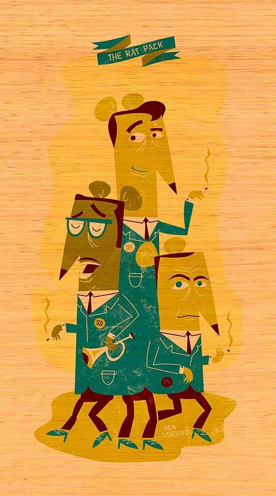 Ilustración de BEN SANDERS