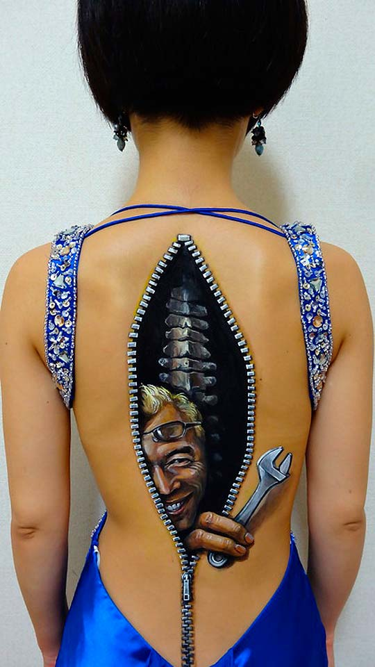 Body painting de CHOOO-SAN