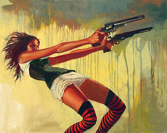 Pintura de GABE LEONARD