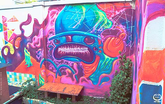 Arte urbano de HEY BRO!
