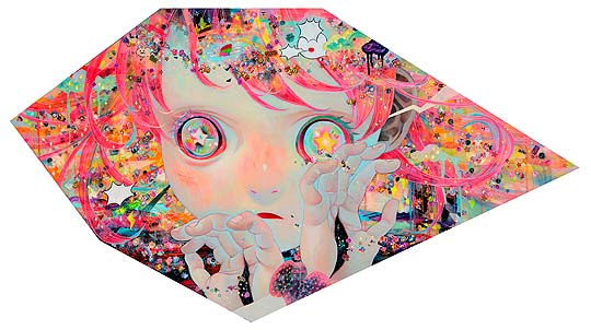 Pintura de HIKARI SHIMODA