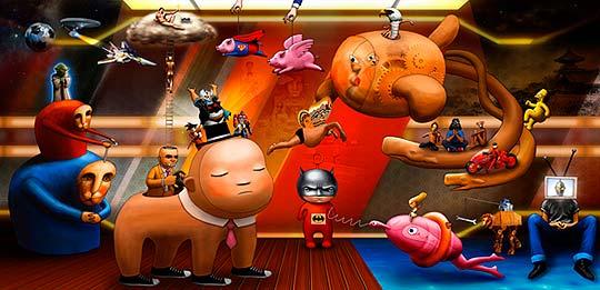 Arte digital de Kouji Oshiro