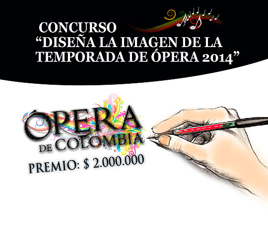Convocatoria de diseño. Diseño la imagen de la temporada de Ópera.