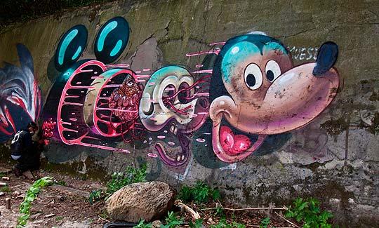 Arte urbano de NYCHOS