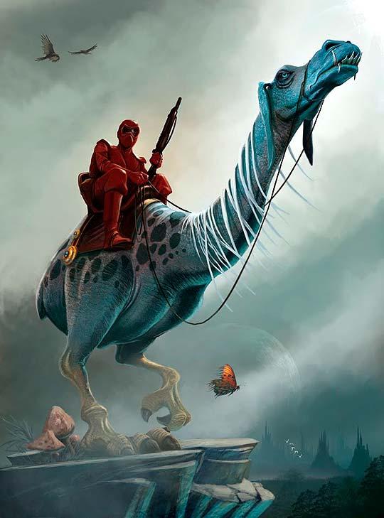 Concept art de PETER OEDEKOVEN