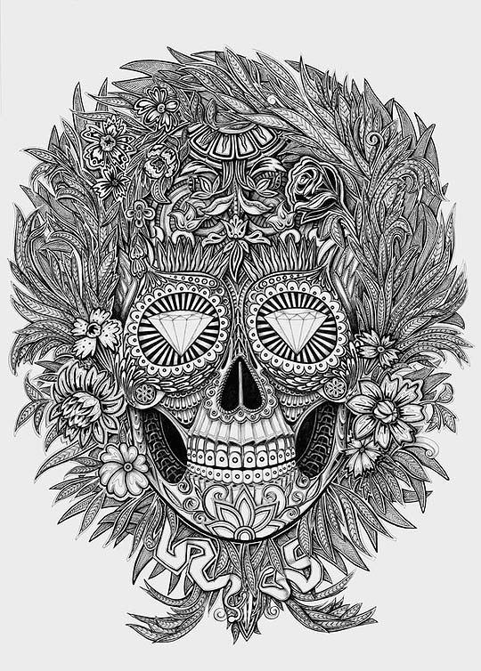 Dibujo de ALEX KONAHIN