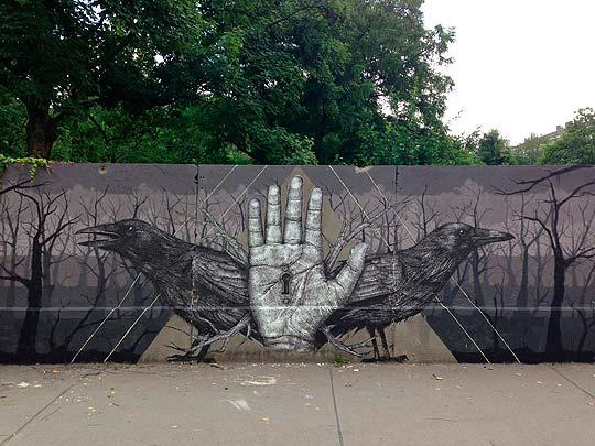 Arte urbano de ALEXIS DIAZ