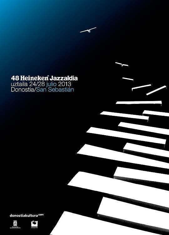Cartel ganador 48 Heineken Jazzaldia - Ricardo Bermejo