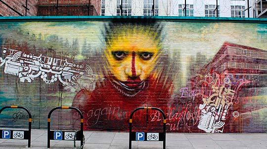 Street art de DALE GRIMSHAW