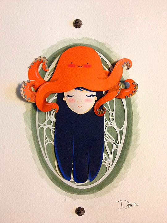 Tentacles on my head de DANA SANMAR