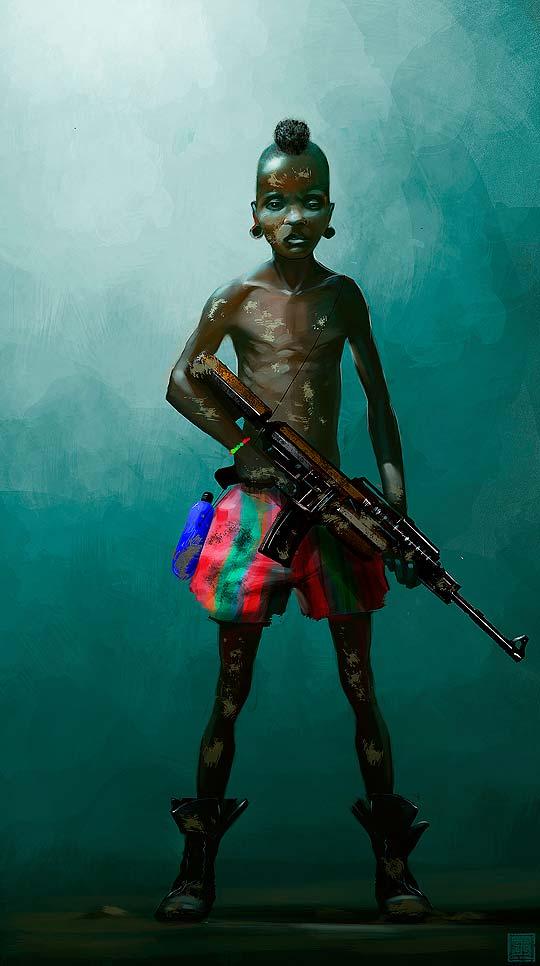 Arte digital de TONATIUH OCAMPO