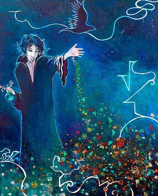 Ilustración de Albyky