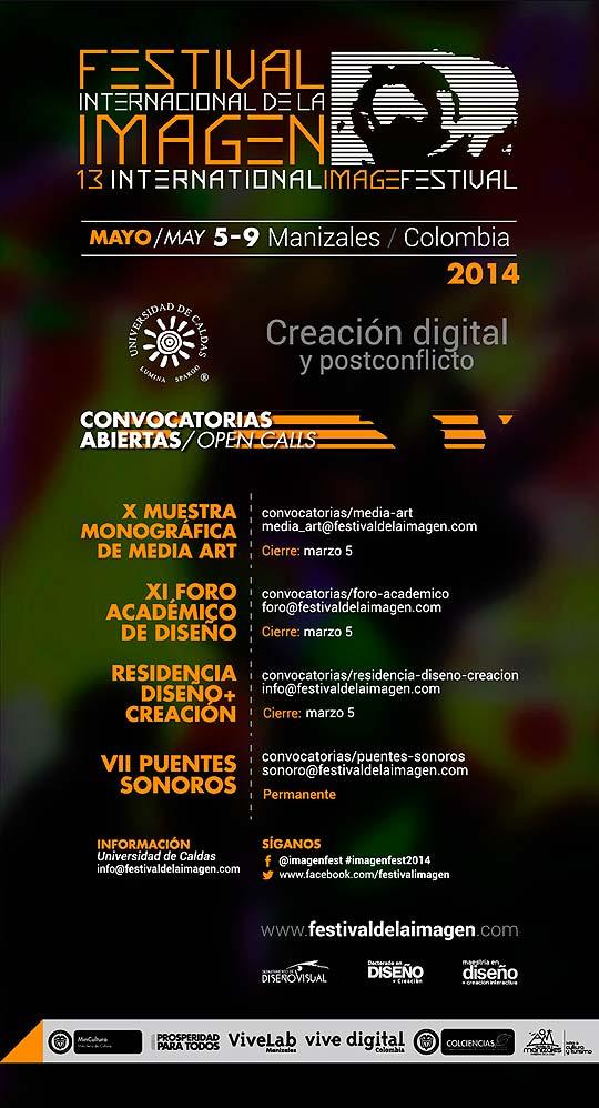 XIII Festival Internacional de la Imagen de Manizales.