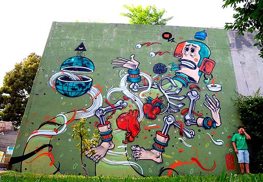 Arte urbano de Mr. THOMS