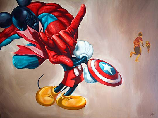 Pintura de OSCAR GUTIERREZ