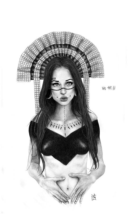 Dibujo de RICARDO VANEGAS