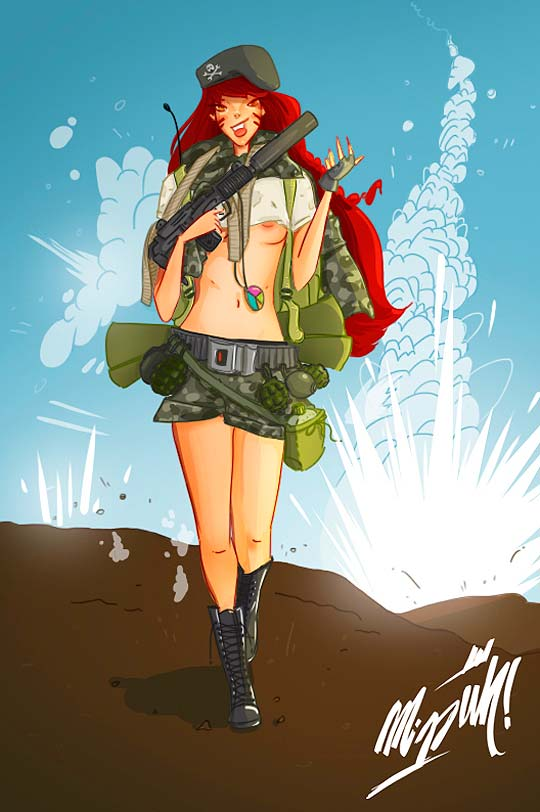 Ilustración de TAMARA HADEED aka Miss-uh!