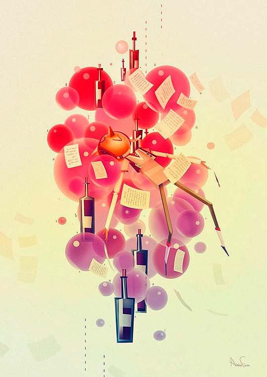 Ilustración de AMIN FARAMARZIAN