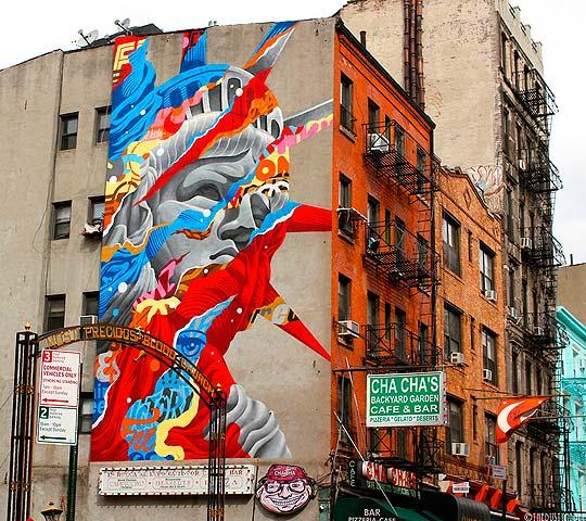 Arte urbano de TRISTAN EATON