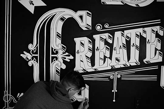 Lettering de BEN JOHNSTON
