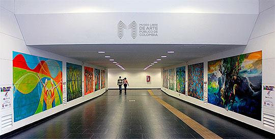 II Bienal Internacional de Muralismo y Arte Público de Colombia