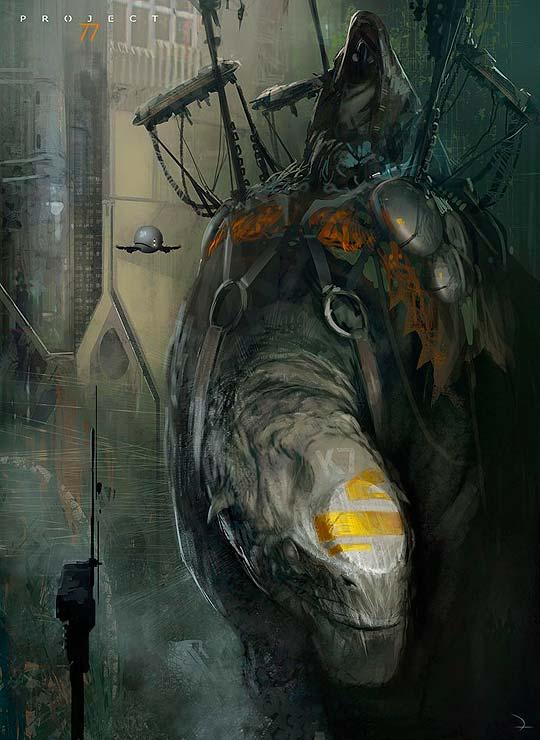 Concept art de MARTIN DESCHAMBAULT