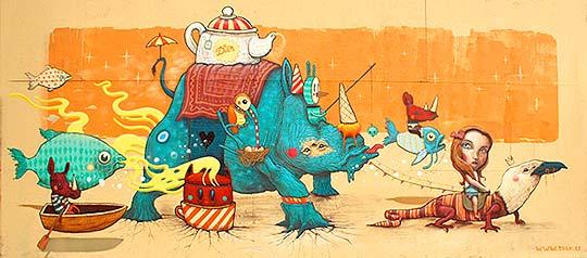Arte urbano de Antonio Segura Donat aka Dulk