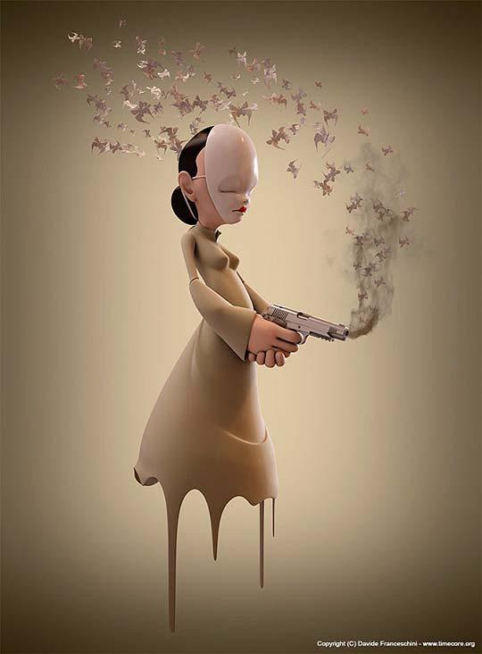 Ilustración 3D de DAVIDE FRANCESCHINI
