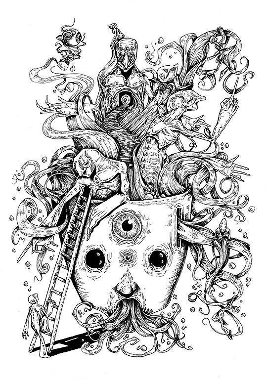 Ilustración de LEANDRO CEPEDA aka EIO