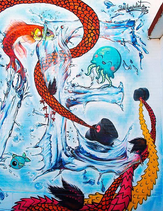 Arte urbano de PICHIAVO