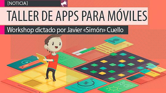 Workshop Diseño de Apps para móviles.