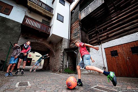 Emocionantes imágenes reflejan el espíritu de la Copa Mundo 2014.