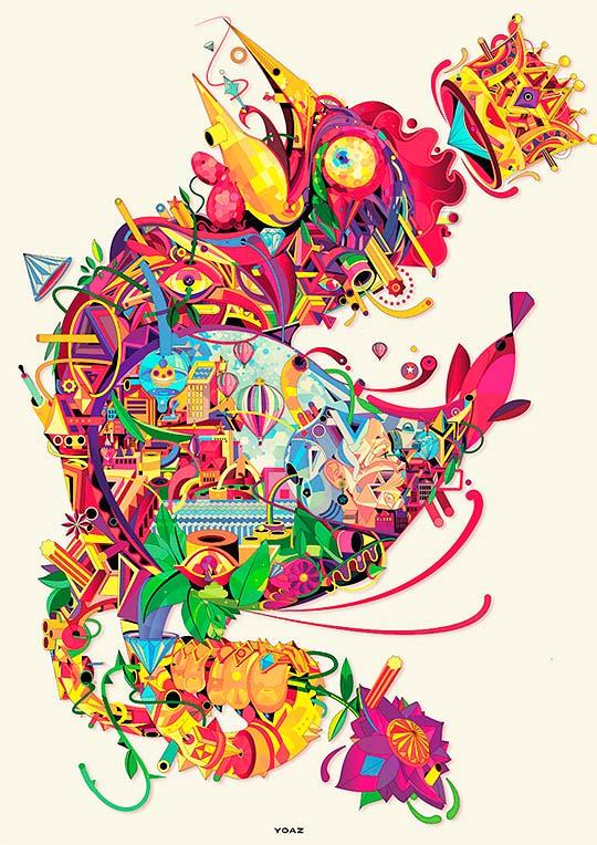 Ilustración de YO AZ