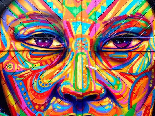 Arte urbano de GUACHE
