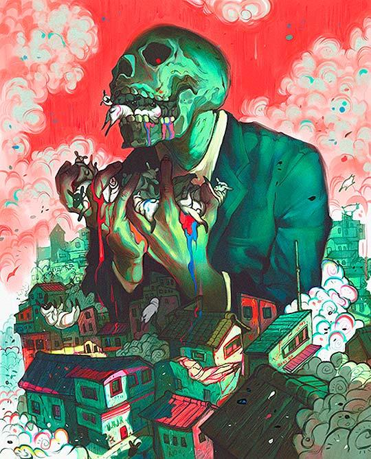 Ilustración de Kay Castaneda