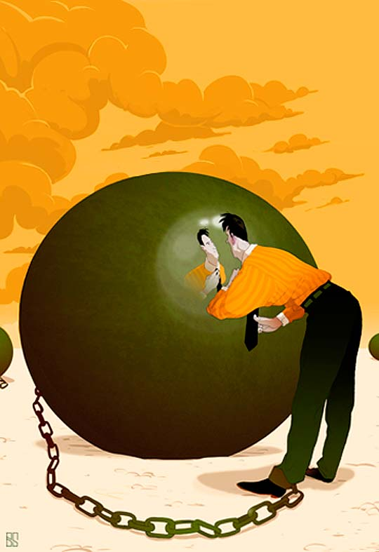 Ilustración de BARAN SARIGUL
