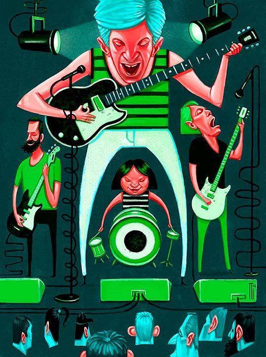 Ilustración de TANNER GRIEPENTROG
