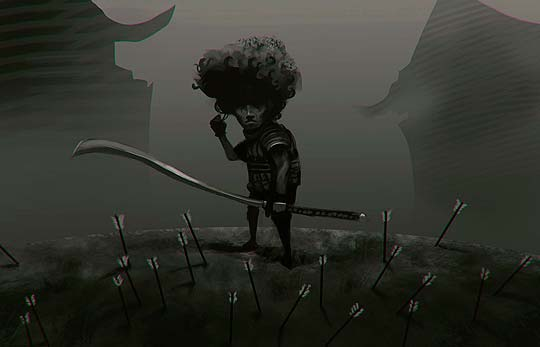 Ilustración de WALTER QUINAR aka Monkeyman