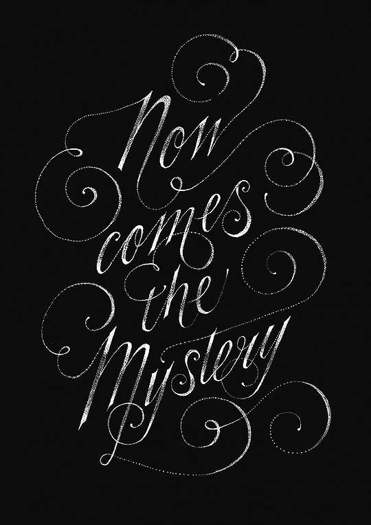 Ilustración, tipografía y caligrafía de GEMMA O'BRIEN