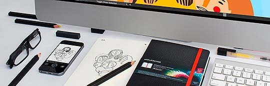 "Adobe y Moleskine lanzan ""Moleskine Smart Notebook"""