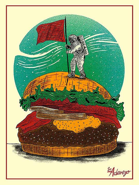 Ilustración de Sr. ADEREZO