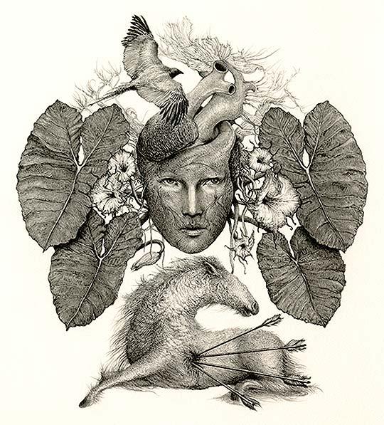 Dibujo, ilustración y lápiz de ALEJANDRO GARCÍA RESTREPO