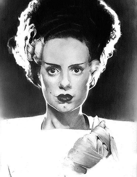 Dibujo y retratos a lápiz de ARNAUD GOMET
